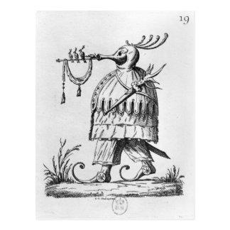 A Monster,'Les Songes Drolatiques de Pantagruel' Postcard