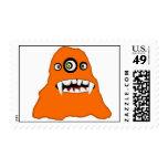 A Monster Named Gorlug Postage Stamps