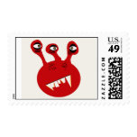 A Monster Named Moony Postage Stamps