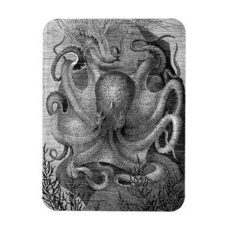 A Monster Octopus Magnet
