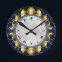 A Month in the Life of the Moon Clock