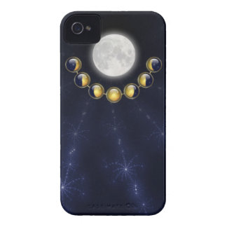 A Month in the Life of the Moon iPhone 4 Case-Mate