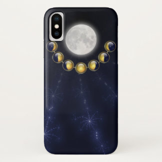 A Month in the Life of the Moon iPhone Case-Mate