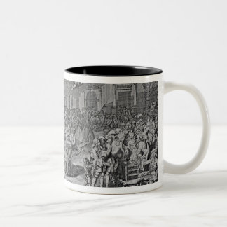 A Monument dedicated to Posterity, 1720 Two-Tone Coffee Mug