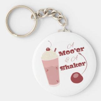 A Moo'er & A Shaker Keychain