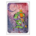 A Moon Kats Holiday Greeting Card