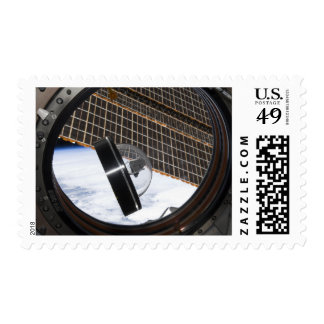 A moon rock 2 postage stamp