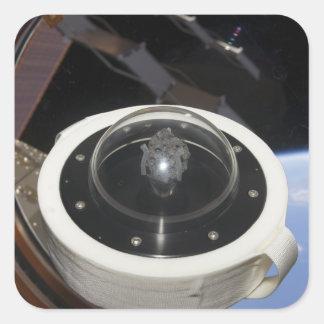 A moon rock 3 square sticker