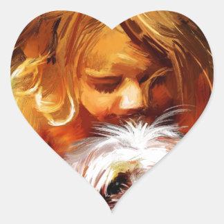a moral act.jpg heart sticker