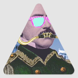 A more interesting history triangle sticker