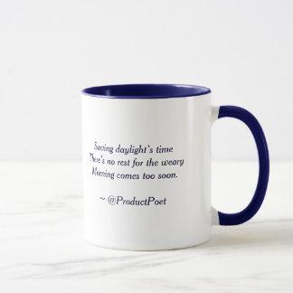 """A Morning Haiku"" Coffee Mug"