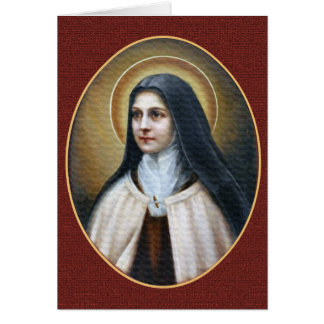 A MORNING PRAYER WRITTEN BY ST. THERESE CARD