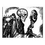 A morte chama cartão postal