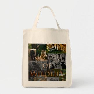 A Mosaic of Wildlife Tote Bag