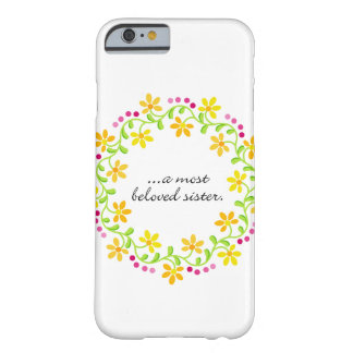A most beloved sister - Austen - Pride & Prejudice Barely There iPhone 6 Case