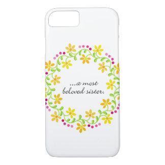 A most beloved sister - Austen - Pride & Prejudice iPhone 8/7 Case