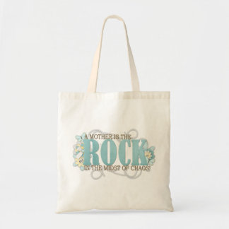 A mother is the rock tote bag