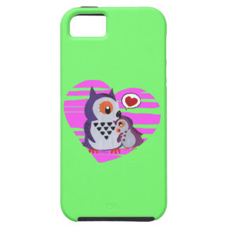 A mother owl hugging its daugther iPhone SE/5/5s case