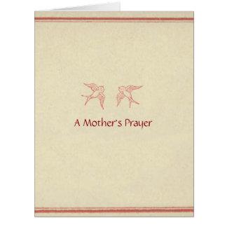 A Mother's Prayer ©2012 by Trinka Polite (card) Card