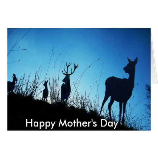 A Mothers Alertness. Happy Mother's Day Greeting Card