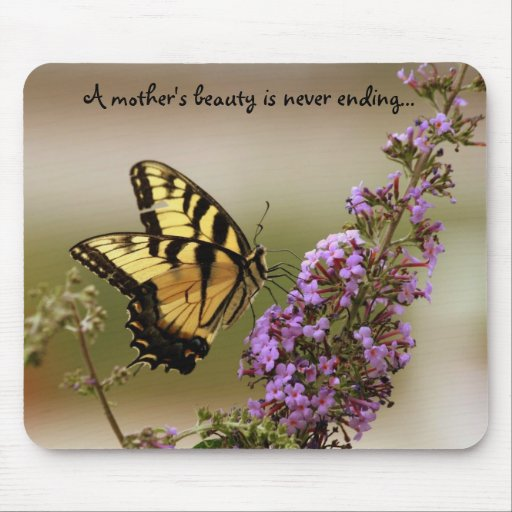 A mother's beauty mouse pad