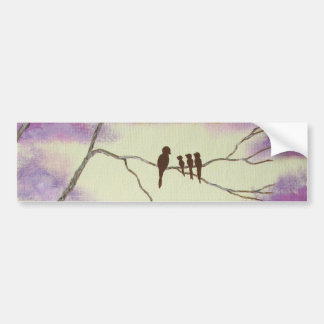 A Mothers Blessings Bumper Sticker From Painting