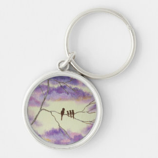 A Mothers Blessings Keychain Round Pendant Artwork