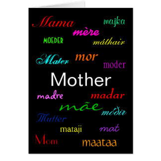 """A Mother's Day"" Card Greeting Card"