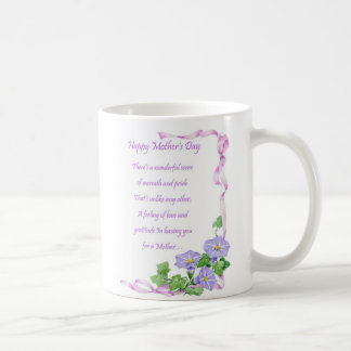 A Mother's Day Coffee Mug With A Poem