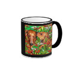 A Mother's Day dachshund mug