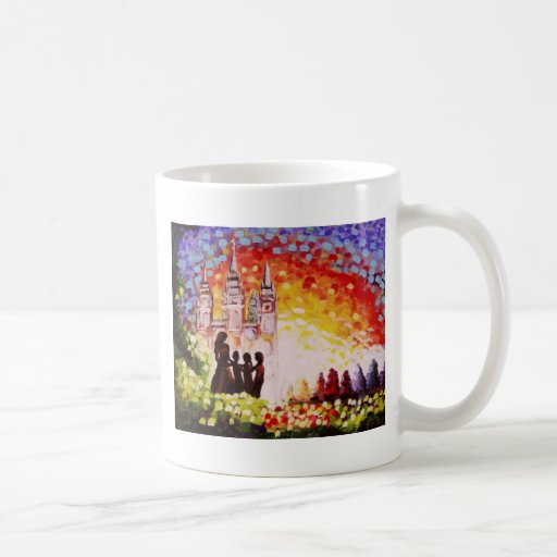 A Mother's Heart and Soul Classic White Coffee Mug