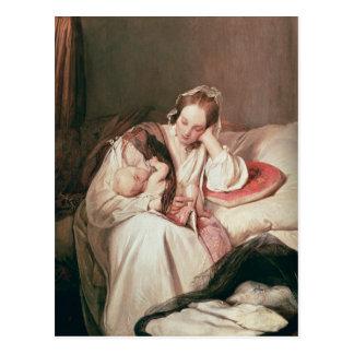 A Mother's Love, 1839 Postcard