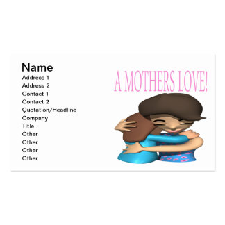 A Mothers Love Double-Sided Standard Business Cards (Pack Of 100)