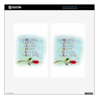 A Mother's Love Decals For Kindle Fire