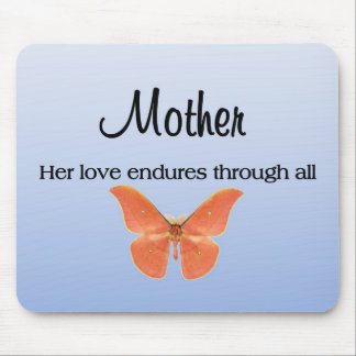 A Mother's Love Endures Through All Mouse Pad