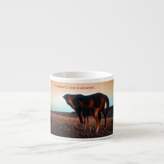 A mother's love espresso cup