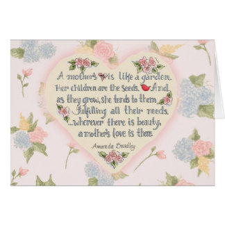 A Mother's Love - Greeting Card