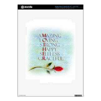A Mother's Love iPad 3 Skins