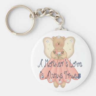 A Mother's Love is Always True Keychain