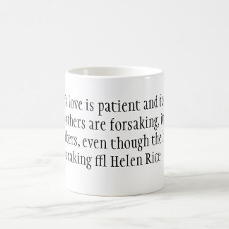 A mother's love is patient and forgiving when a... coffee mug