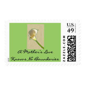 A Mother's Love Knows No Boundaries Postage Stamp