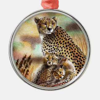 A Mother's Love Metal Ornament