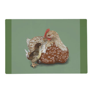 A Mother's Love Laminated Placemat