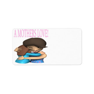 A Mothers Love Personalized Address Label