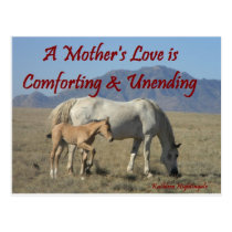 A Mother's Love Postcard