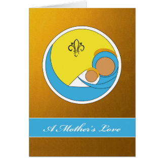 A Mother's Love, Religious Mother's Day, Isaiah 66 Card