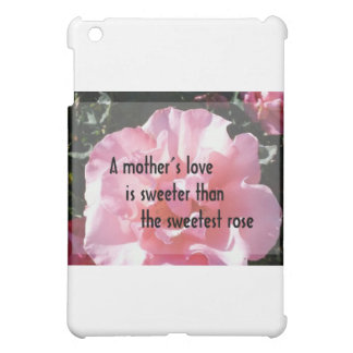 A Mother's Love - Rose Emblem for Mom Cover For The iPad Mini