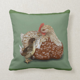 A Mother's Love Throw Pillows