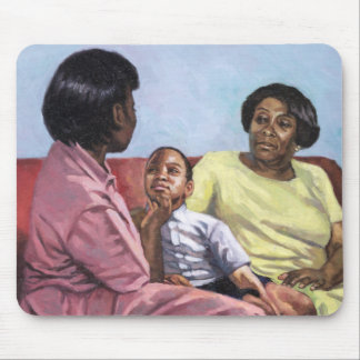 A Mother's Strength 2001 Mouse Pad