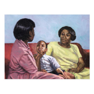 A Mother's Strength 2001 Postcard